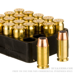 20 Rounds of .45 ACP Ammo by Sierra Outdoor Master - 185gr JHP