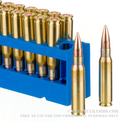 20 Rounds of 7.62x51mm Ammo by Prvi Partizan - 145gr FMJBT