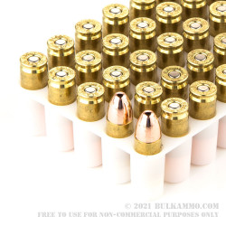 50 Rounds of 9mm Ammo by Independence - 115gr FMJ