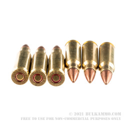 200 Rounds of 6.8 SPC Ammo by Remington - 115gr MC
