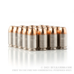20 Rounds of .45 GAP Ammo by Federal Hydra Shok - 185gr JHP