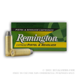 50 Rounds of .45 Long-Colt Ammo by Remington - 225gr MC