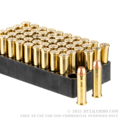 50 Rounds of .357 Mag Ammo by Armscor USA - 125gr FMJ