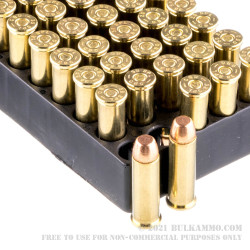 50 Rounds of .38 Special Ammo by Magtech - 130gr FMJ