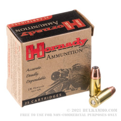 25 Rounds of 9mm Ammo by Hornady - 147gr JHP