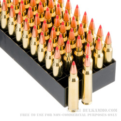 200 Rounds of .223 Ammo by Fiocchi - 50gr V-Max