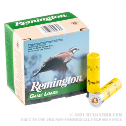25 Rounds of 20ga Ammo by Remington - 7/8 ounce #7 1/2 shot