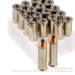 20 Rounds of .357 Mag Ammo by Federal Hydra Shok - 158gr JHP