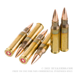 120 Rounds of 7.62x51 Ammo by Ammo Inc. - 150gr FMJ