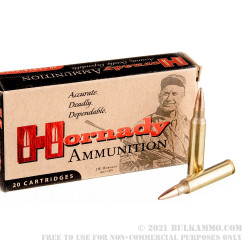20 Rounds of .223 Ammo by Hornady - 68gr HPBT