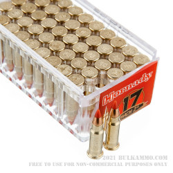 50 Rounds of .17HM2 Ammo by Hornady - 17gr V-MAX