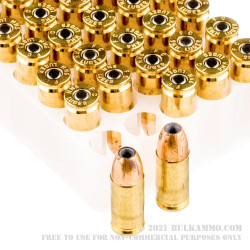 500 Rounds of 9mm Ammo by Federal Train + Protect - 115gr Versatile Hollow Point
