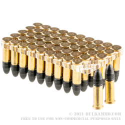 5000 Rounds of .22 LR Ammo by CCI Quiet-22 - 40gr LRN