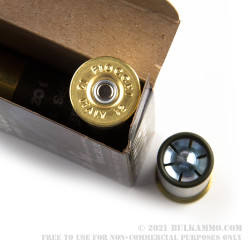 5 Rounds of 12ga Ammo by Fiocchi - 1 ounce Steel Slug