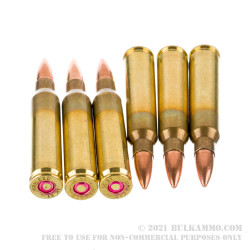 1000 Rounds of .223 Ammo by Igman - 55gr FMJ
