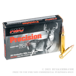 20 Rounds of .300 Win Mag Ammo by PMC Precision - 150gr SPBT InterLock