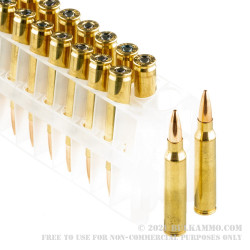 20 Rounds of .223 Ammo by Federal Gold Medal - 73gr Berger BTHP