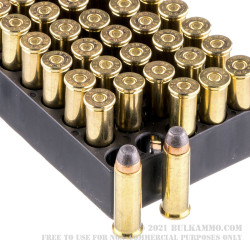 1000 Rounds of .38 Spl Ammo by Magtech - 158gr SJSP