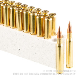 20 Rounds of 30-06 Springfield (M1 Garand) Ammo by Winchester WWII Victory Series - 150gr FMJ
