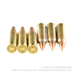 500 Rounds of 5.56x45 Ammo by Hornady Frontier - 62gr FMJ