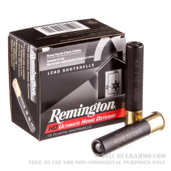 """150 Rounds of .410 Ammo by Remington Home Defense - 2-1/2"""" - 000 Buck - 4 Pellets"""