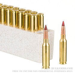 20 Rounds of 6.5mm Creedmoor Ammo by Winchester Deer Season XP Copper Impact - 125gr Extreme Point