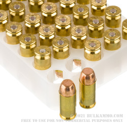 40 S&W - 180 gr FMJ - Federal American Eagle - 1000 Rounds