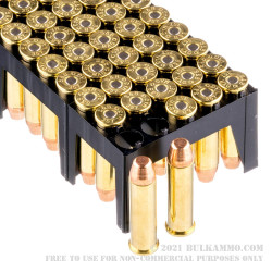50 Rounds of .357 Mag Ammo by Sellier & Bellot - 158gr FMJ