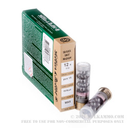 """250 Rounds of 12ga 3"""" Ammo by Sellier & Bellot -  00 Buck"""