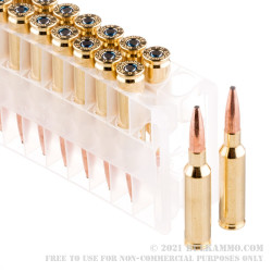 200 Rounds of 6.5 mm Creedmoor Ammo by Federal Non-Typical Whitetail - 140gr SP
