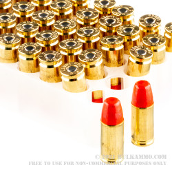 50 Rounds of 9mm Ammo by Federal Syntech Action Pistol - 150gr Total Synthetic Jacket
