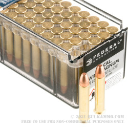 50 Rounds of .22 WMR Ammo by Federal - 40gr FMJ