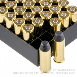 500 Rounds of .45 Long-Colt Ammo by Fiocchi - 250gr LRNFP