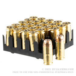 50 Rounds of .40 S&W Ammo by Sellier & Bellot - 180gr JHP