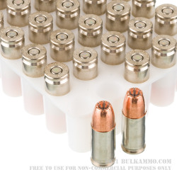 1000 Rounds of 9mm +P Ammo by Speer Gold Dot - 124gr JHP