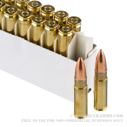 1000 Rounds of .300 AAC Blackout Ammo by Prvi Partizan - 125gr FMJ