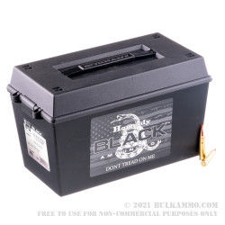 200 Rounds of .300 AAC Blackout Ammo by Hornady BLACK - 110gr V-MAX in Field Box