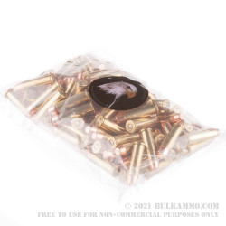 100 Rounds of .38 Spl Ammo by MBI - 158gr FMJ