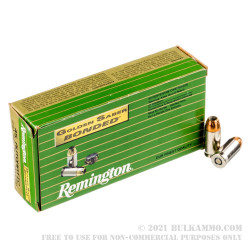 500  Rounds of .45 ACP Ammo by Remington Golden Saber - 230gr Bonded JHP