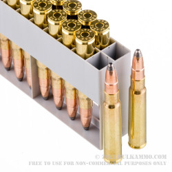 20 Rounds of 8x57 mm JS Mauser Ammo by Sellier & Bellot - 196gr SPCE