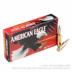 200 Rounds of 6.5 mm Creedmoor Ammo by Federal - 120gr OTM