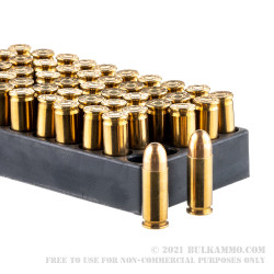 50 Rounds of .38 Super Ammo by Aguila - 130gr FMJ
