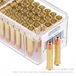 500 Rounds of .22 WMR Ammo by CCI Maxi-Mag  - 40gr JHP