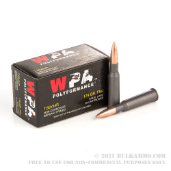 500  Rounds of 7.62x54r Ammo by Wolf - 174gr FMJ