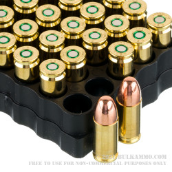 1000 Rounds of 9mm Ammo by GECO - 115gr TMJ