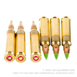 1000 Rounds of 5.56x45 Ammo by Igman - 62gr FMJ M855