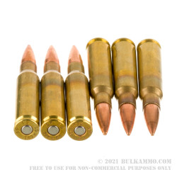 200 Rounds of 7.62x51 Ammo by Armscor - 147gr FMJ M80