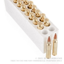 20 Rounds of .223 Ammo by Winchester - 64gr HP