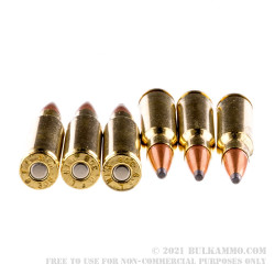 20 Rounds of .308 Win Ammo by Fiocchi - 165gr InterLock SPBT