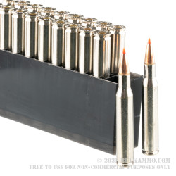 20 Rounds of .270 Win Ammo by Hornady Outfitter - 130gr GMX